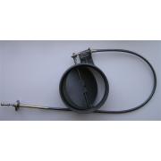 Шиберная заслонка D230 мм